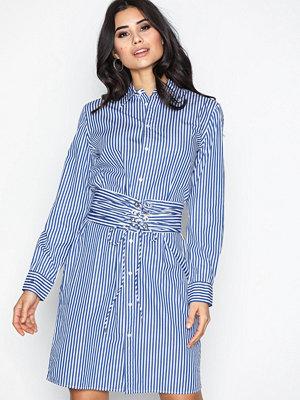 Polo Ralph Lauren Long Sleeve Casual Fit Dress Blue/White