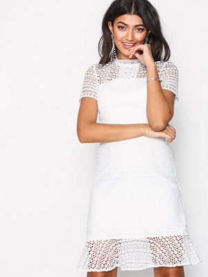 Chi Chi London Maja Dress White