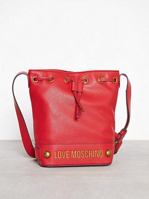 Love Moschino röd axelväska JC4349PP05K60 Red
