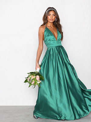 NLY Eve Thin Strap Ball Gown Grön