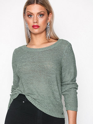 Only onlGEENA Xo L/S Pullover Knt Noos Grön