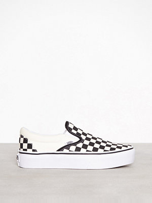Sneakers & streetskor - Vans Ua Classic Slip-On P Black/White