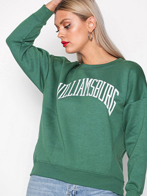 New Look Williamsburg Print Sweats Dark Green