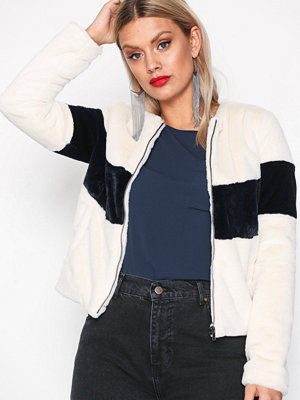 Object Collectors Item Objscarlett L/S Faux Jacket a Lmt Offwhite
