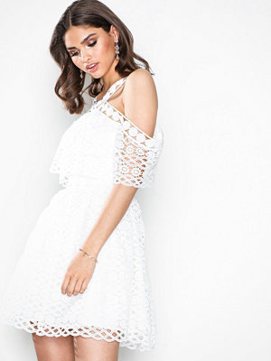 Chi Chi London Norie Dress White
