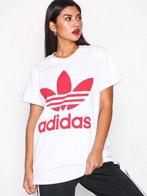 Adidas Originals Big Trefoil Tee Vit