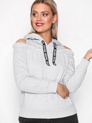 Street & luvtröjor - Aéryne Abby Sweater Light Grey Melange