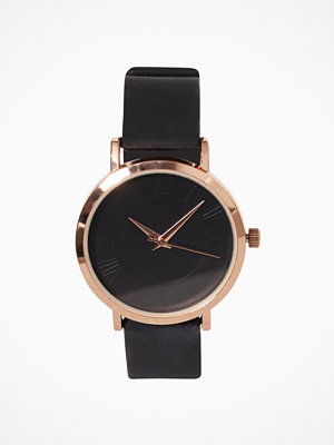 New Look Silicone Strap Watch Black