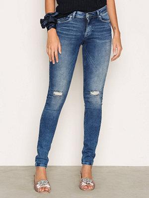 Only onlCORAL Slsk Dnm Jeans REA15051 N Blå