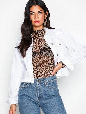 NLY Trend Essential Denim Jacket Vit