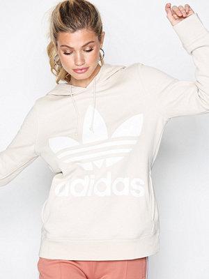 Street & luvtröjor - Adidas Originals Trefoil Hoodie Linen
