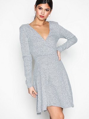 Sisters Point Semi Dress Grey Melange