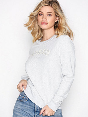 Morris Lady Logo Sweatshirt Grey