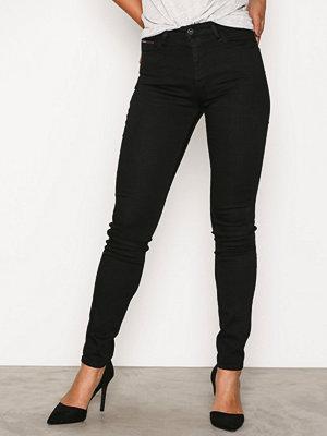 Tommy Jeans High Rise Skinny Santana Black