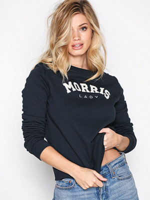 Morris Lady Logo Sweatshirt Blue