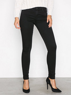 Topshop Leigh Jeans Black