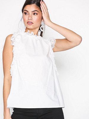 Glamorous Turtle Neck Top White