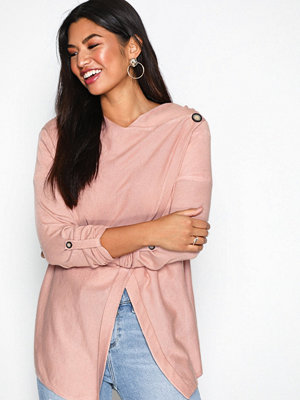 Object Collectors Item Objdeanna Light Knit Cardigan Noos Ljus Rosa