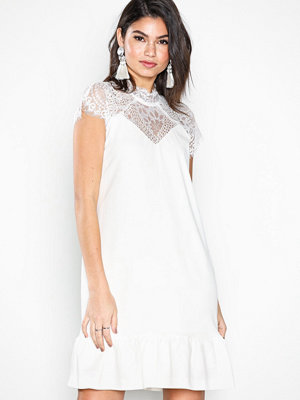 Neo Noir Foxy White Dress White