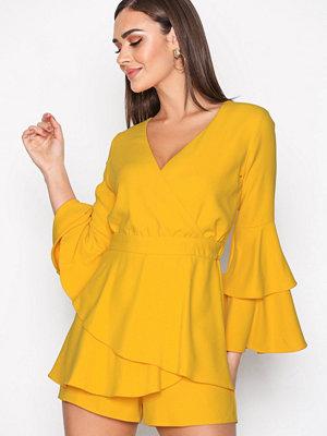 River Island Thalia Dress Yellow