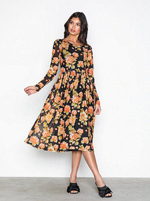 Vila Violena L/S Dress /Rx Svart