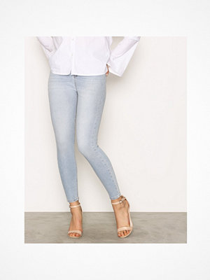 Only onlPOSH Hw Crop Dnm Jeans REA17435 Ljus Blå