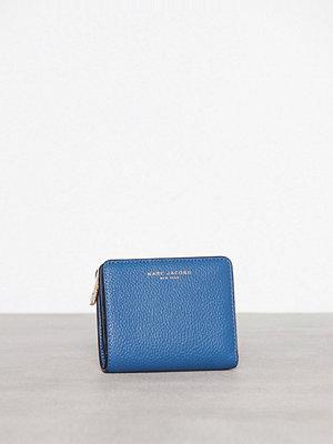 Plånböcker - Marc Jacobs Mini Compact Wallet Blå