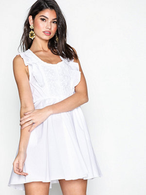 Free People Half Moon Mini White