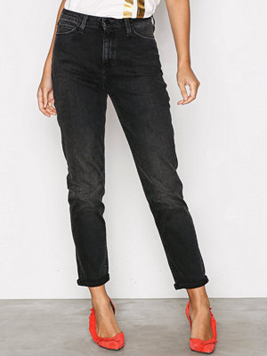 Lee Jeans Mom Straight Punk Deluxe Denim