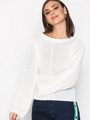 Object Collectors Item Objkarina Ls Knit Pullover 96 Offwhite