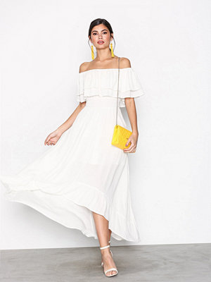 River Island Bardot Maxi Dress White
