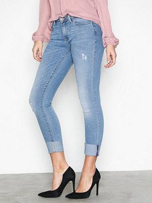 Only onlCARMEN Reg Sk an Jeans CRE169637 Ljus Blå