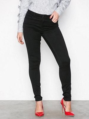 Vero Moda Vmseven Nw s Shape Up Jeans VI506 N Svart