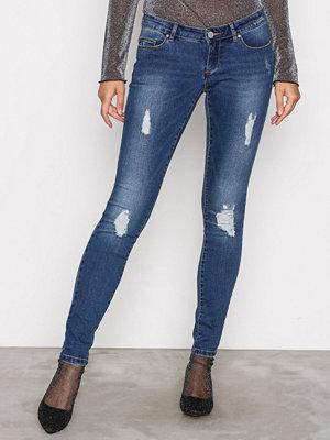 Only onlCORAL Superlow Sk Jeans BJ10221 Blå