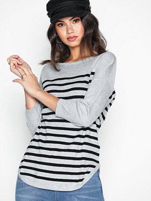 Jacqueline de Yong Jdycrush 3/4 Pullover Knt Hnn Noos Ljus Grå