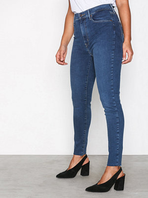 Levi's Mile High super skinny in Blå