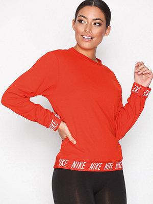 Nike NK Dry Top LS Crewneck Röd