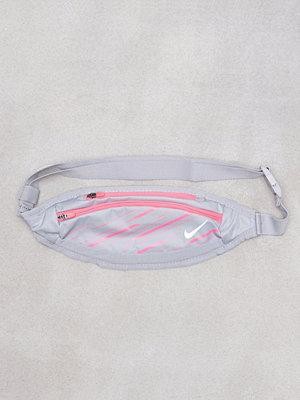 Sport & träningsväskor - Nike Small Cap Waistpack Grå/Rosa