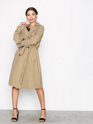Only onlJENNIFER Trenchcoat Otw Ljus Brun