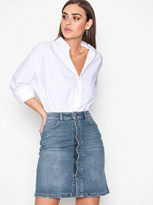 Filippa K Mid Blue Denim Skirt Vintage