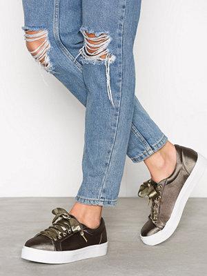 NLY Shoes Platform Sneaker Grön