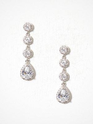 New Look örhängen Teardrop Drop Earrings Crystal