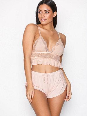Pyjamas & myskläder - NLY Lingerie Flirty Dream Shorts Rosa