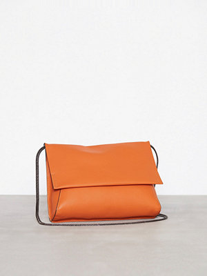 Topshop axelväska New Charlie Clutch Orange
