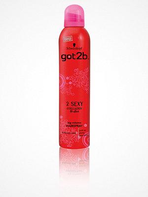 Hårprodukter - Schwarzkopf Got2b 2 Sexy Big Volume Hairspray 300 ml