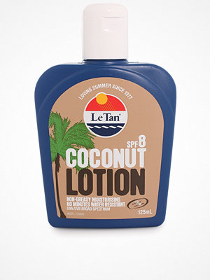 Solning - Le Tan Coconut Body Lotion SPF 8 125 ml Vit