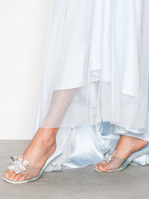 NLY Shoes Slip Mule Ice Blue
