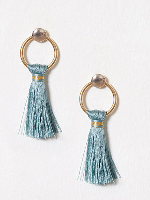 New Look örhängen Tassel Twist Hoop Earring Light Green