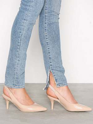 NLY Shoes Slingback Pump Beige