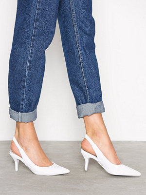 Pumps & klackskor - NLY Shoes Slingback Pump Vit